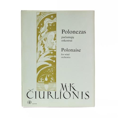 Polonaise for wind orchestra. M. K. Čiurlionis