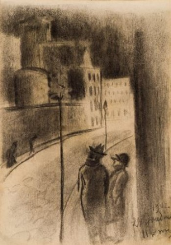 M.K.Čiurlionis. The City at Night