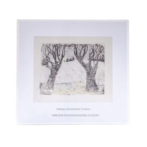M. K. Čiurlionis. Two trees