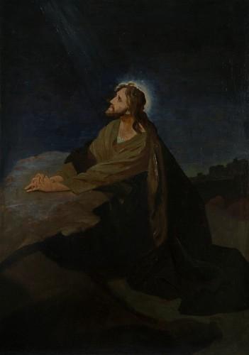 M. K. Čiurlionis. Christ at the Mount of Olives