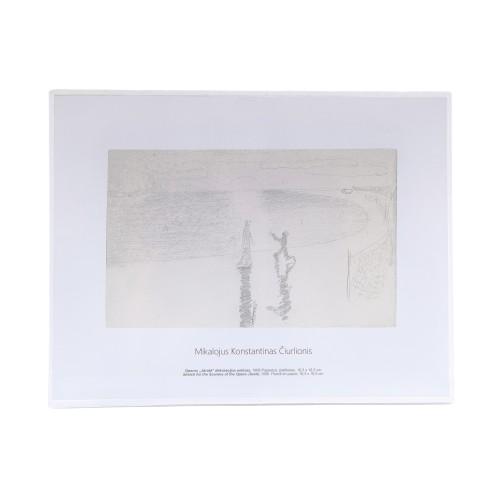 M. K. Čiurlionis. Sketch for the Scenery of the Opera Jūratė