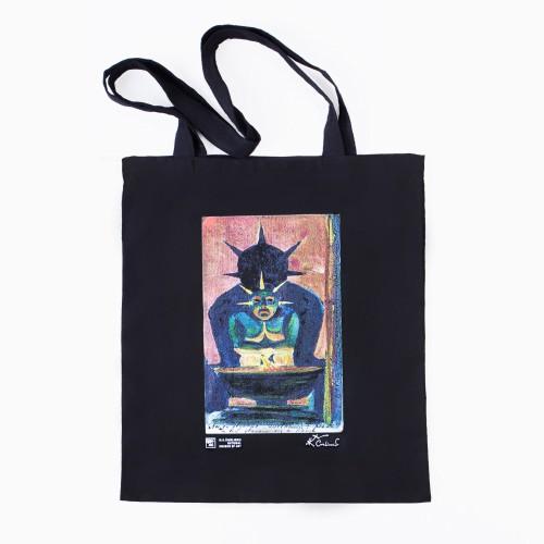 "Shopping bag M. K. Čiurlionis ""Oriental God"""