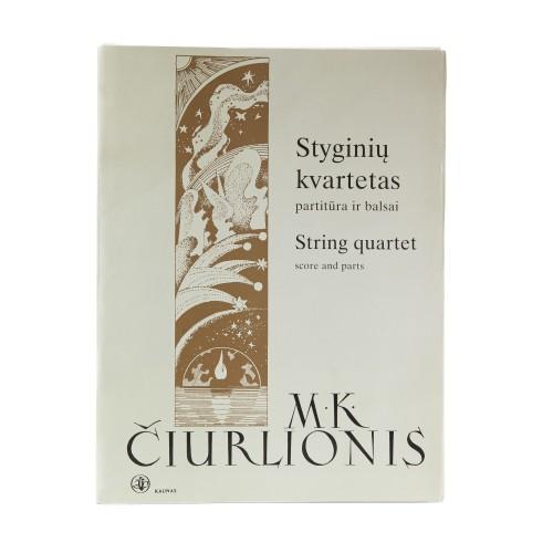 String Quartet. M. K. Čiurlionis