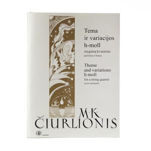 Theme and variations h – mol. M. K. Čiurlionis