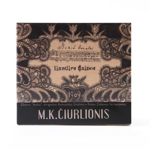 Run, you Fields. Folk Songs for Choir and Piano. M. K. Čiurlionis