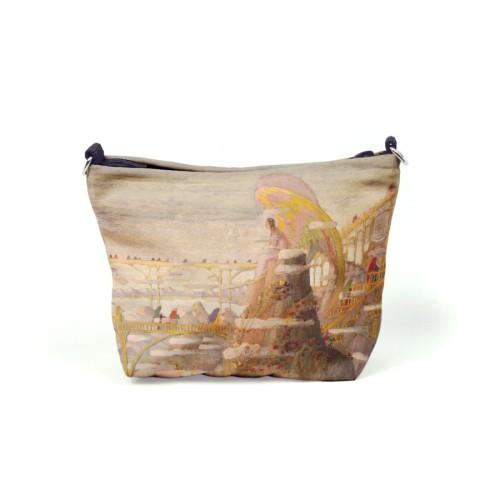 """Cosmetic bag M. K. Čiurlionis """"Angel (Angel prelude)"""""""
