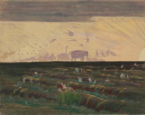 M. K. Čiurlionis. Adoration of the Sun