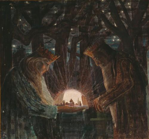 M. K. Čiurlionis. Fairy Tale (Fairy Tale of Kings)