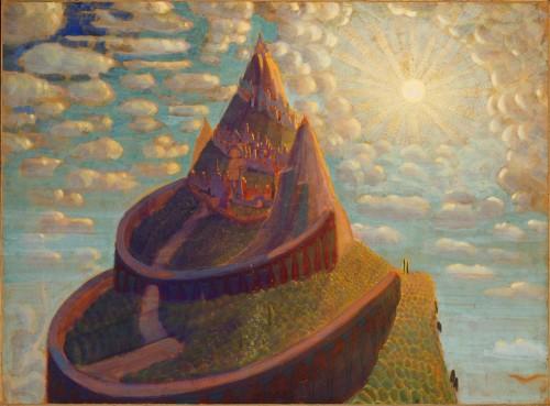 M. K. Čiurlionis. Fairy tale (Castle Fairy Tale)