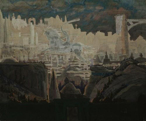 M. K. Čiurlionis. Prelude (The Knight prelude)