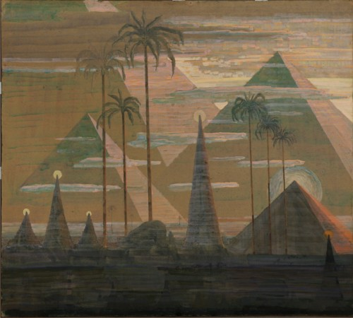 M. K. Čiurlionis. Sonata Nr.7 (Sonata of the Pyramids). Andante