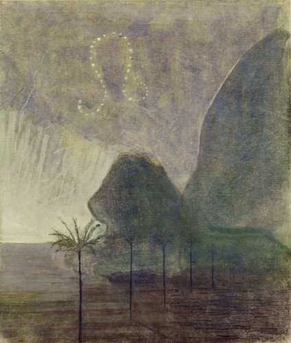 """M. K. Čiurlionis. The Sun is passing the Sign of Leo. VII from the Cycle of 12 paintings """"The Zodiac"""""""