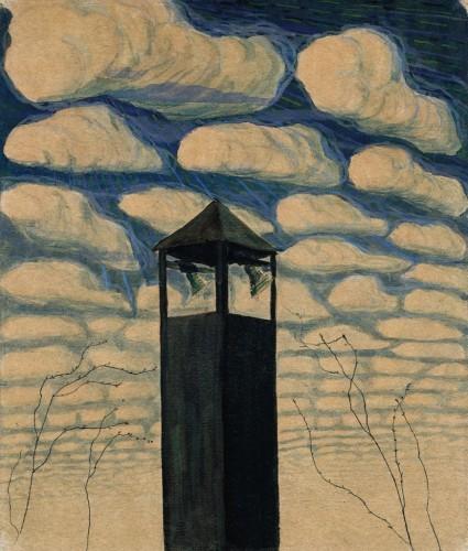 M. K. Čiurlionis. Spring motif