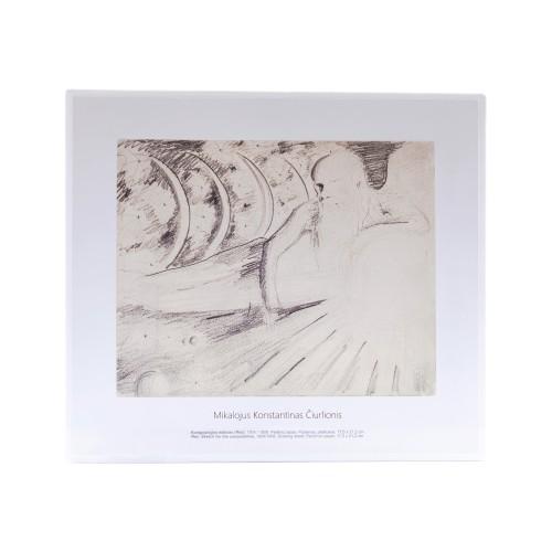 M. K. Čiurlionis. Rex. Sketch for the composition