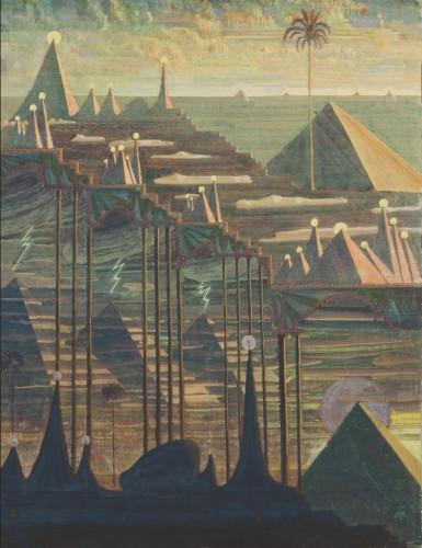 M. K. Čiurlionis. Sonata Nr.7 (Sonata of the Pyramids). Allegro