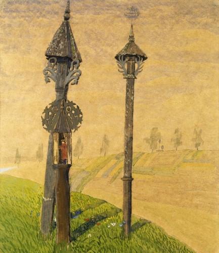 M. K. Čiurlionis. Wayside Crosses of Žemaitija
