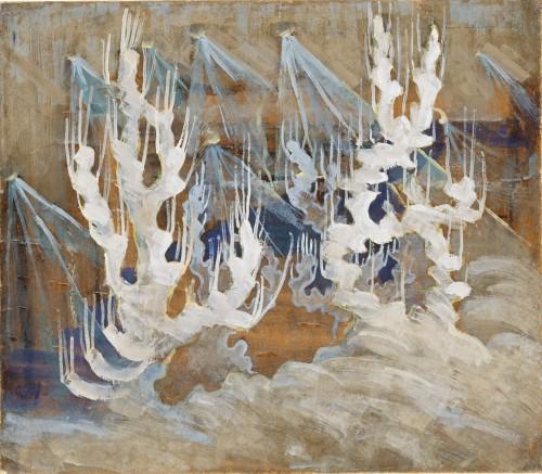M. K. Čiurlionis. Winter II