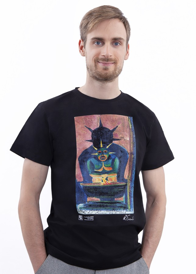 """T-shirt M. K. Čiurlionis """"Oriental God"""""""