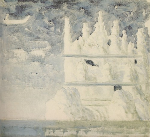 M.K Čiurlionis. The Prince's journey, part III from the Triptych.