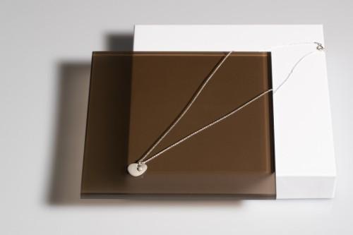 "Minimal line neck accessories ""Salty water"" 0013"