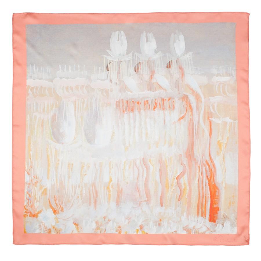 "Silk scarf M. K. Čiurlionis ""Creation of the world VIII"""