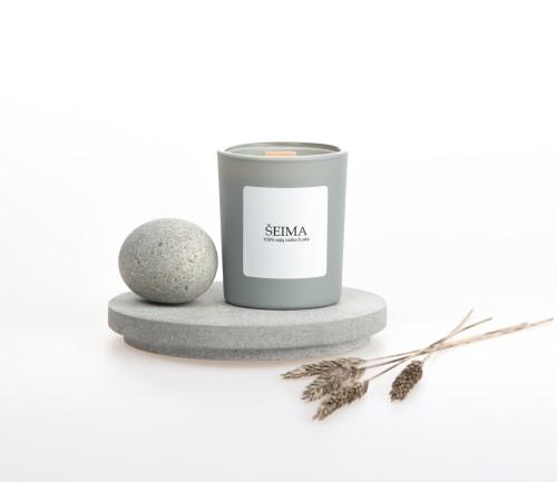"Soy wax candle ""Šeima"", 90ml"